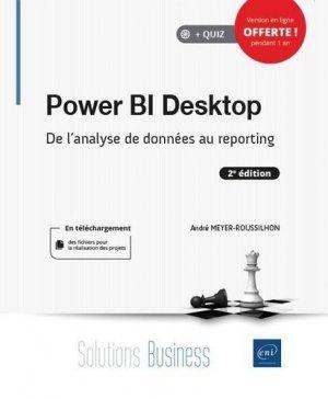 Power BI Desktop - De l'analyse de données au reporting (2e édition) - eni - 9782409030055 -