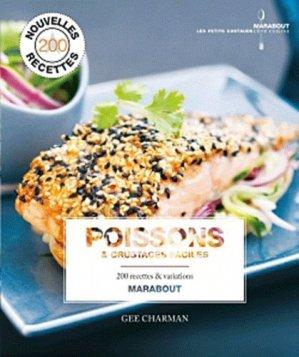 Poissons & crustacés - Marabout - 9782501062237 -