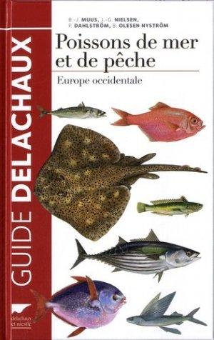 Poissons de mer et de pêche - delachaux et niestle - 9782603021132 -