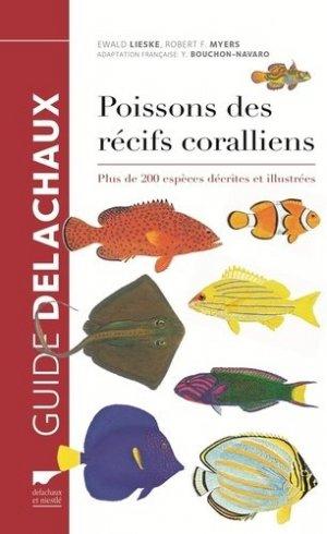 Poissons des récifs coralliens - delachaux et niestle - 9782603024645 -