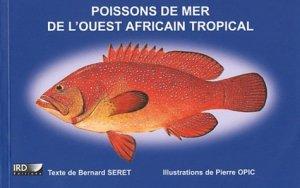 Poissons de mer de l'ouest africain tropical - orstom - 9782709917025 -