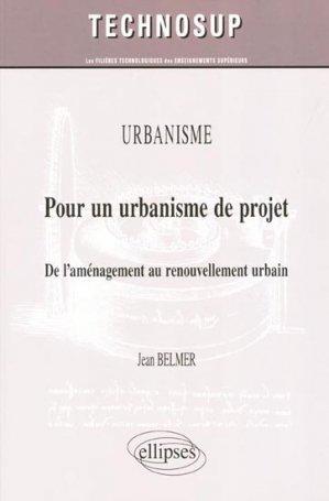 Pour un urbanisme de projet - ellipses - 9782729864996 -