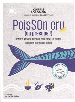 Poisson cru (ou presque !) - de la martiniere - 9782732497372 -