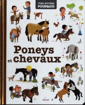 Poneys et chevaux - milan - 9782745961693 -