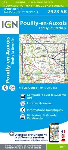 Pouilly-en-Auxois Thoisy-la-Berchère - ign - 9782758536291 -