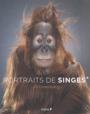 Portraits de singes - du chene - 9782842777777 -