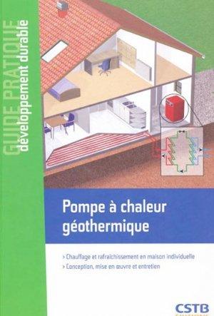 Pompe à chaleur géothermique - cstb - 9782868914835 -