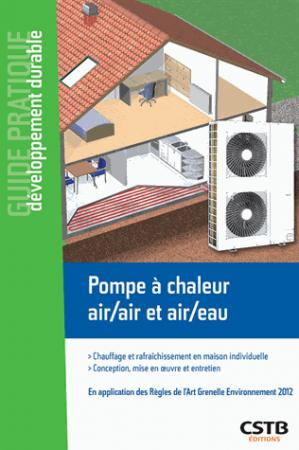 Pompe à chaleur air-air et air-eau - cstb - 9782868916648 -