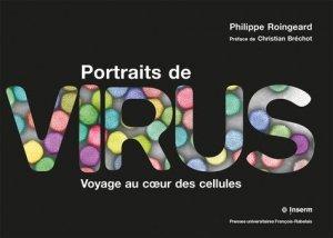 Portraits de virus - presses universitaires francois rabelais - 9782869067578 -