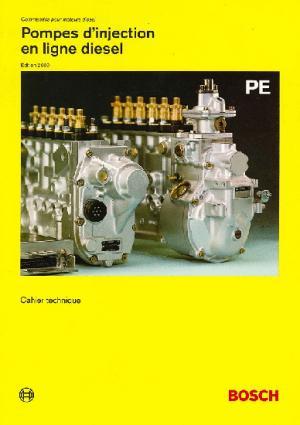 Pompes d'injection en ligne diesel PE - bosch - 9782869440111 -