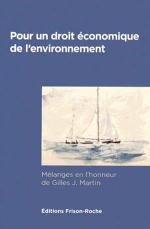 Pour un droit économique de l'environnement - Editions Frison-Roche - 9782876715615 -