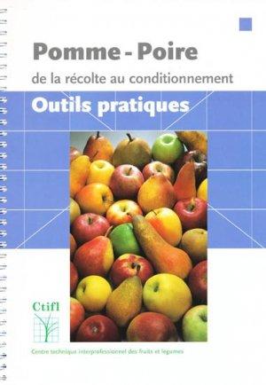 Pomme-poire - centre technique interprofessionnel des fruits et légumes - ctifl - 9782879112220 -