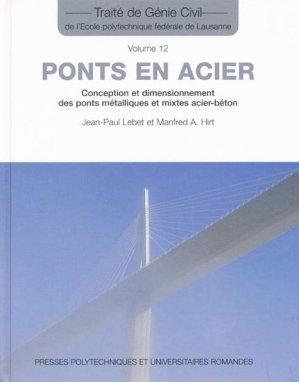Ponts en acier - presses polytechniques et universitaires romandes - 9782880747657 -
