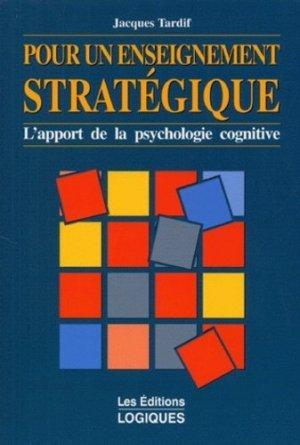 Pour un enseignement stratégique - Logiques (Editions) - 9782893810607 -