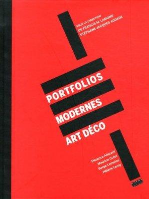 Portfolios modernes Art déco - Editions Norma - 9782915542561 -