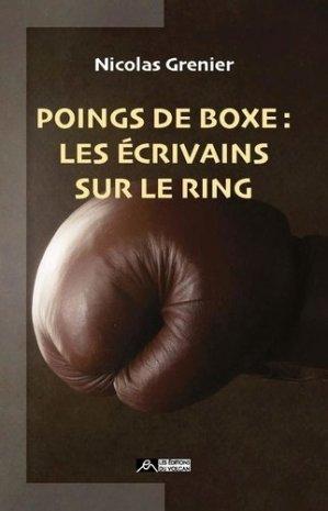 Poings de boxe - Editions du volcan - 9791097339302 -