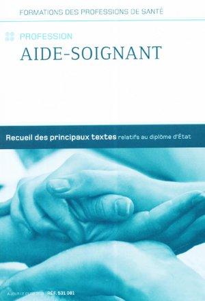 Profession Aide-soignant - berger levrault - 2225360726614 -