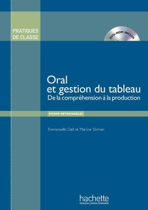Pratiques de classe - Oral et gestion du tableau + DVD-rom - hachette français langue etrangère - 9782014016048 -