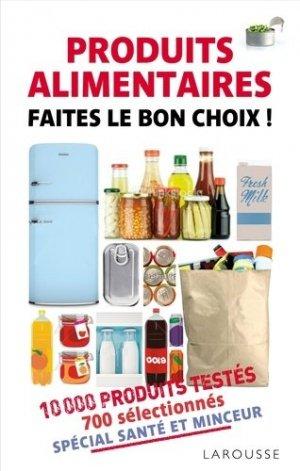 Produits alimentaires - larousse - 9782035873057 -