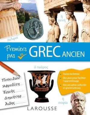 Premiers pas en grec ancien - Larousse - 9782035956804 -