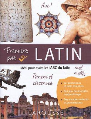 Premiers pas en latin - Larousse - 9782035973153