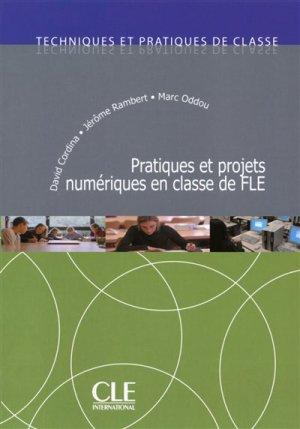 Pratiques et projets numériques en classe de FLE - Nathan - 9782090382303 -
