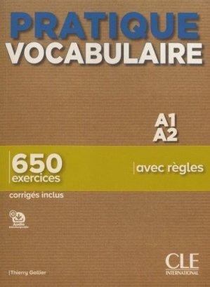 Pratique Vocabulaire - cle international - 9782090389838 -