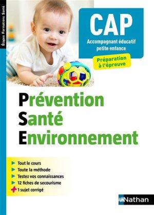 Prévention santé environnement 2019 - nathan - 9782091652641 -