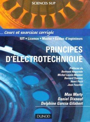 Principes d'électrotechnique - dunod - 9782100485505 -