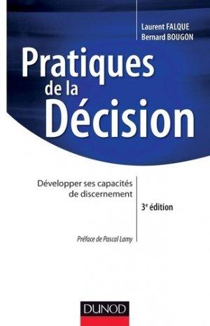 Pratiques de la décision - Dunod - 9782100592074 -