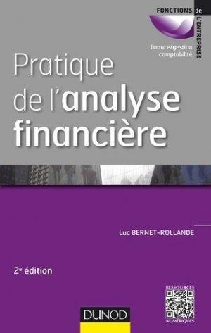 Pratique de l'analyse financière - Dunod - 9782100724154 -