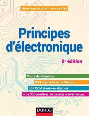 Principes d'électronique - dunod - 9782100747351 -