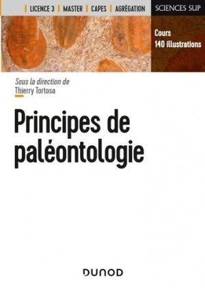 Principes de paléontologie - dunod - 9782100807864 -