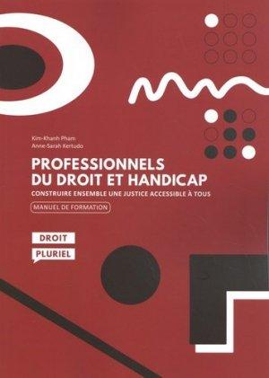 Professionnels du droit et handicap - La Documentation Française - 9782110775276 -