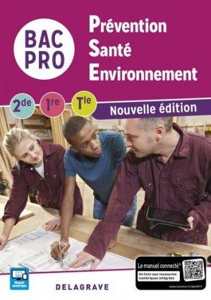 Prévention Santé Environnement (PSE) 2de, 1re, Tle Bac Pro (2017) - Pochette élève - delagrave - 9782206304311 -