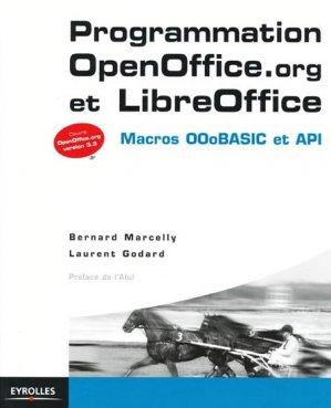 Programmation OpenOffice.org et LibreOffice - eyrolles - 9782212132472
