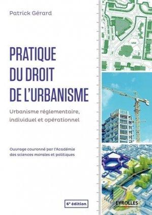 Pratique du droit de l'urbanisme - eyrolles - 9782212137323 -