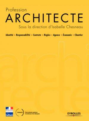 Profession architecte / manuel HMONP - eyrolles - 9782212143805 -