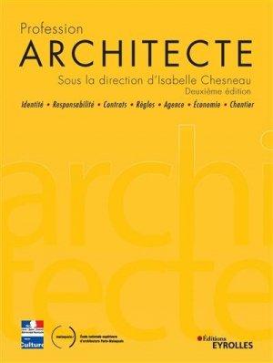Profession Architecte - Eyrolles - 9782212679267 -