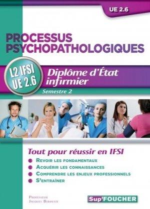 Processus psychopathologiques - foucher - 9782216121366 -