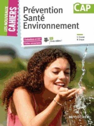 Prévention Santé Environnement CAP - foucher - 9782216126903