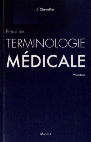 Précis de terminologie médicale - maloine - 9782224034405 -