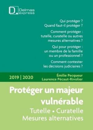 Protéger un majeur vulnérable. Edition 2019-2020 - dalloz - 9782247156276 -