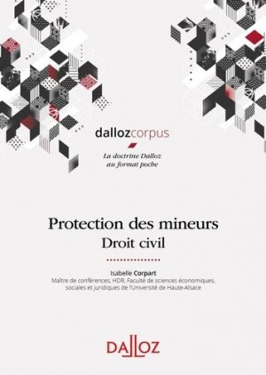 Protection des mineurs. Droit civil - dalloz - 9782247190058 -