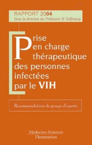 Prise en charge thérapeutique des personnes infectées par le VIH - lavoisier msp - 9782257101983 -