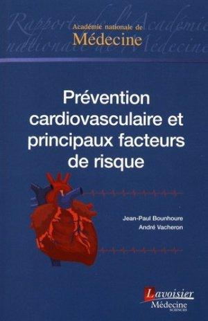 Prévention cardiovasculaire et principaux facteurs de risque - lavoisier msp - 9782257207104 -