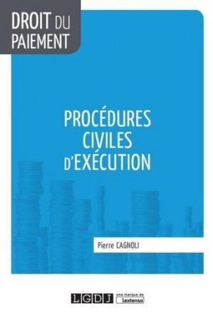 Procédures civiles d'exécution - LGDJ - 9782275056203 -