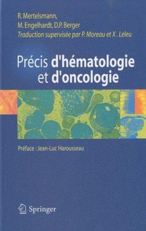 Précis d'hématologie et d'oncologie - springer - 9782287993411 -