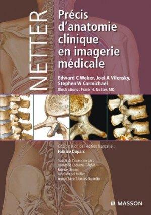 Précis d'Anatomie Clinique en Imagerie Médicale - elsevier / masson - 9782294707056