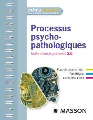 Processus psychopathologiques - elsevier / masson - 9782294710964 -